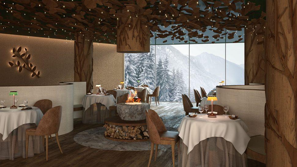 lefay resort & spa dolomiti, Italy Grual Organic Restaurant