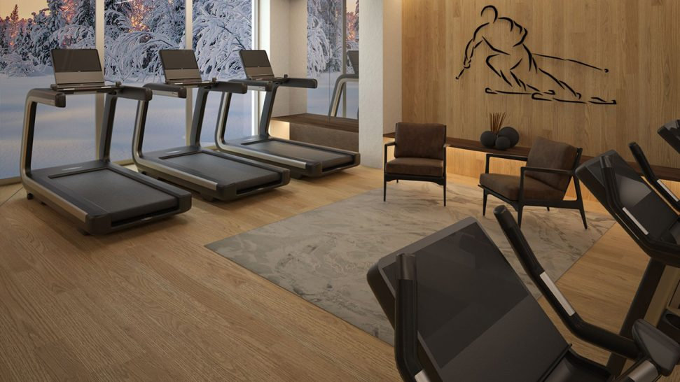 lefay resort & spa dolomiti, Italy Gym