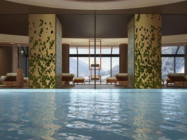 lefay resort & spa dolomiti, Italy Pool