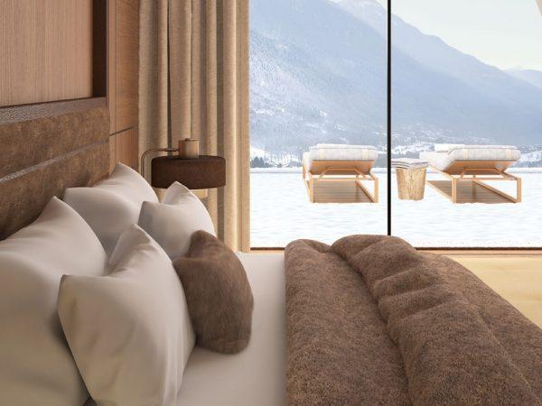 lefay resort & spa dolomiti, Italy Royal Pool & Spa Suite