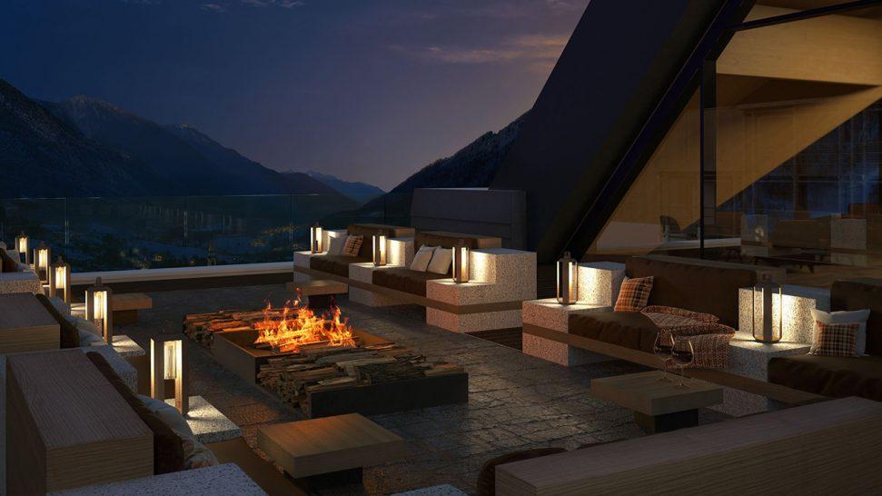 lefay resort & spa dolomiti, Italy Sky Lounge