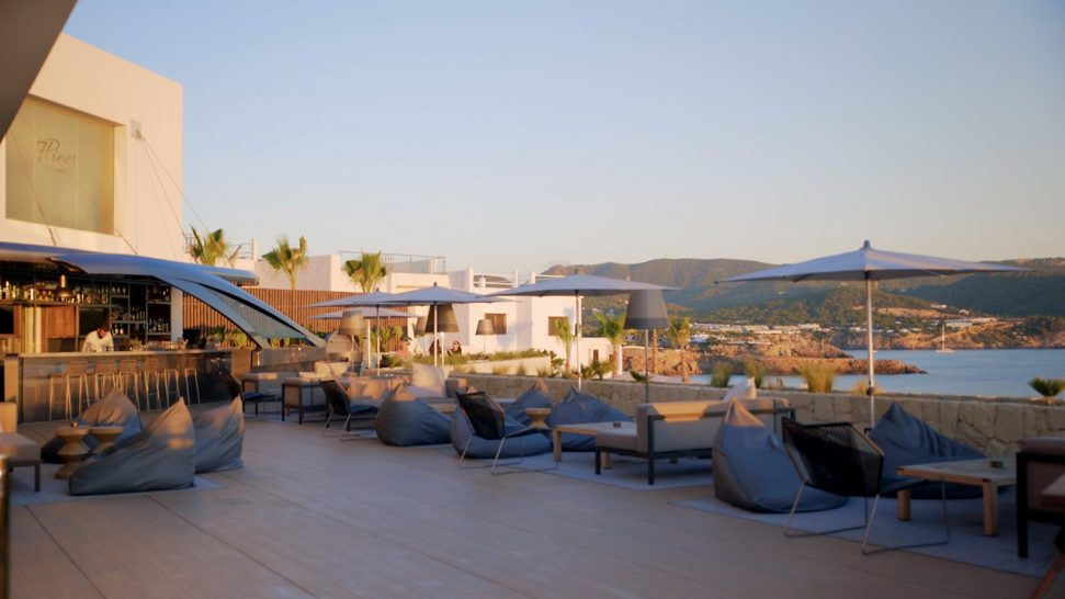7Pines Resort Ibiza Pershing Yacht Terrace