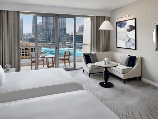 Address Downtown Dubai Club Fountain View Twin Rooms