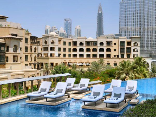 Address Downtown Dubai Exterior View