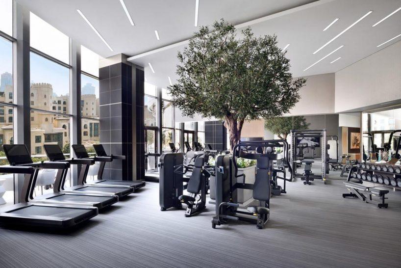 Address Downtown Dubai Gym