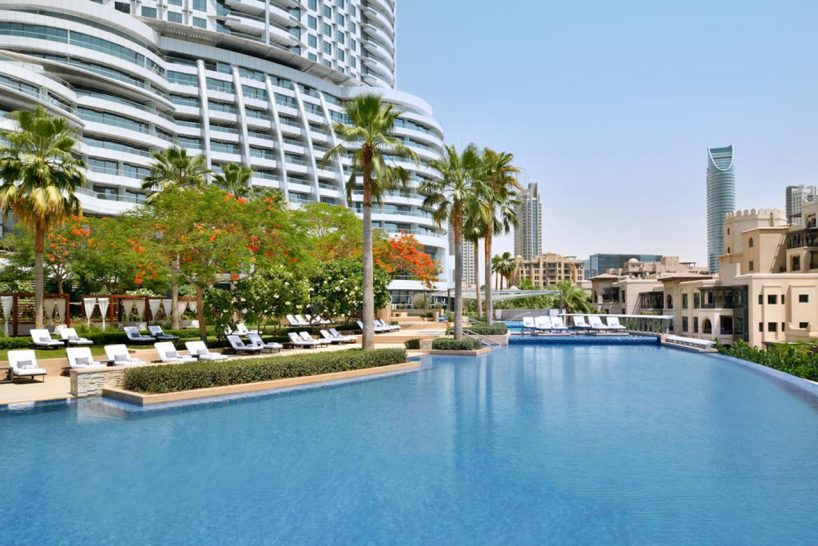 Address Downtown Dubai Pool