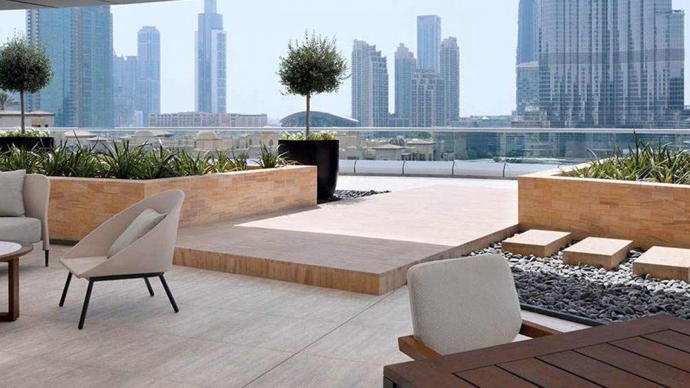 Address Downtown Dubai Spa Suites Fountain View