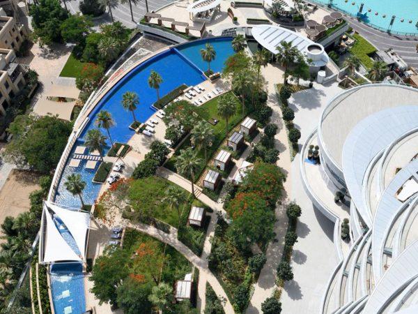 Address Downtown Dubai Top View