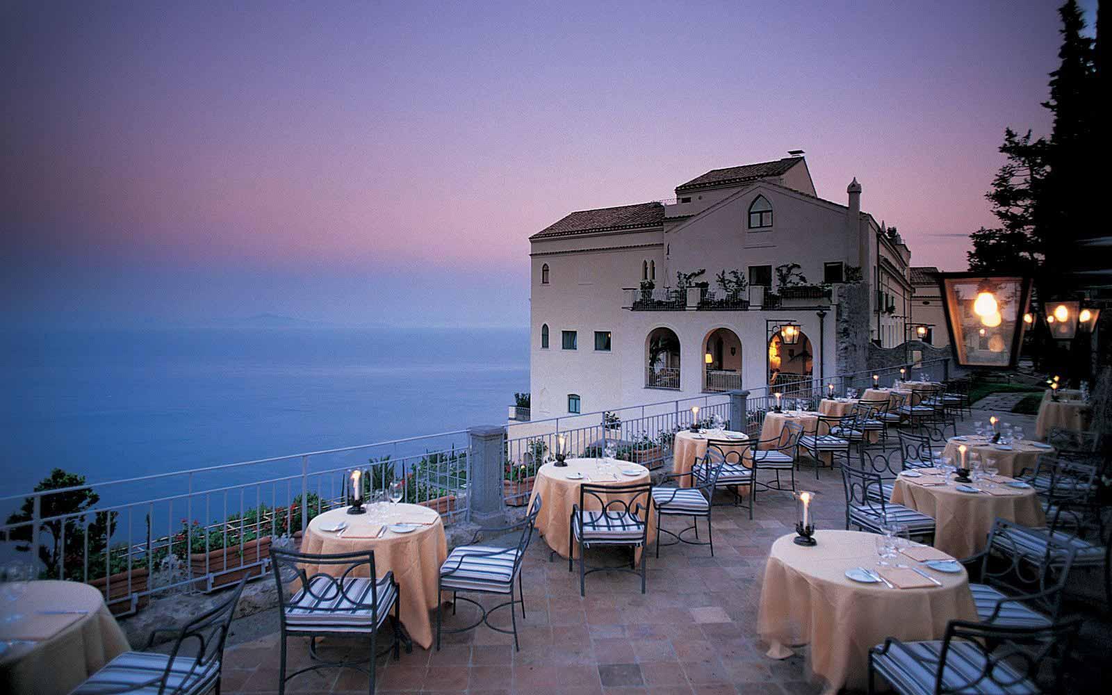 Belmond Hotel Caruso Belvedere Restaurant
