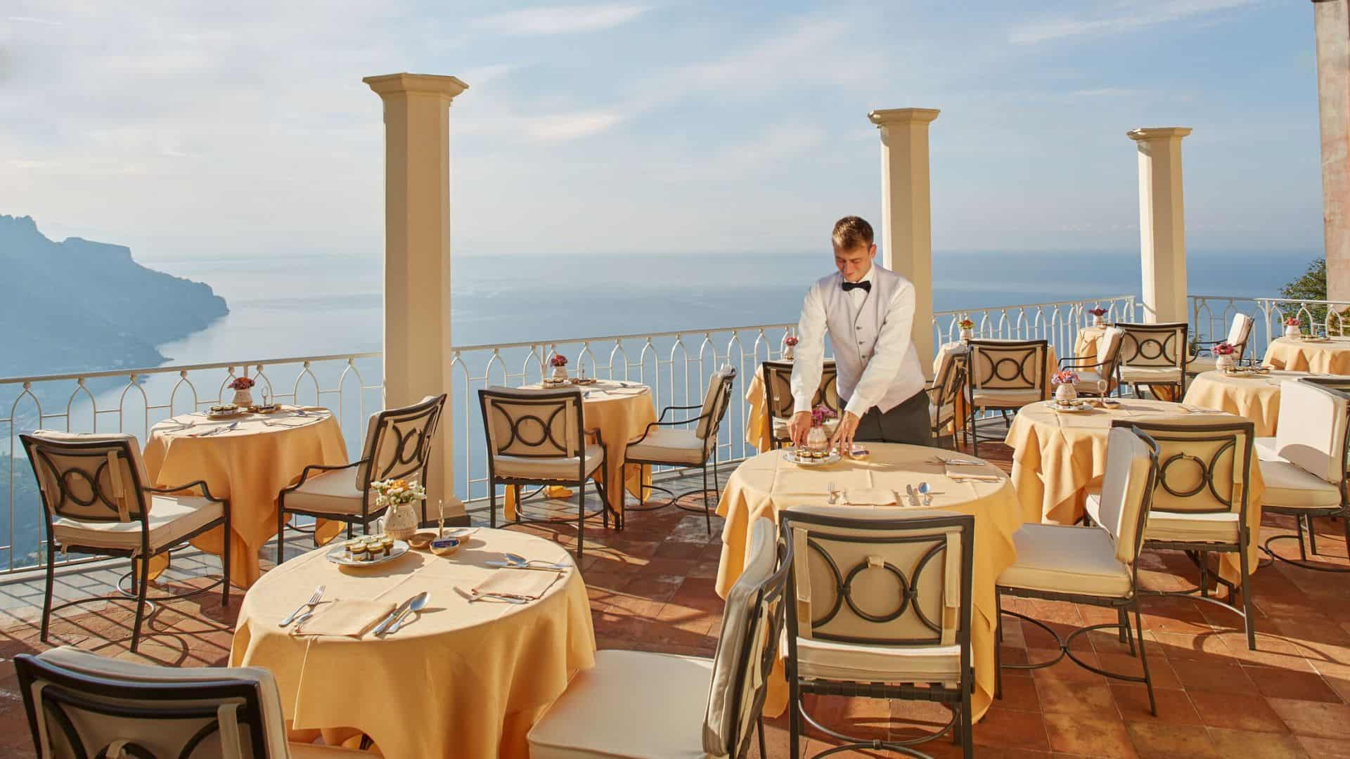 Belmond Hotel Caruso Dining