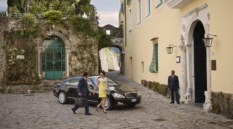 Belmond Hotel Caruso Entrance