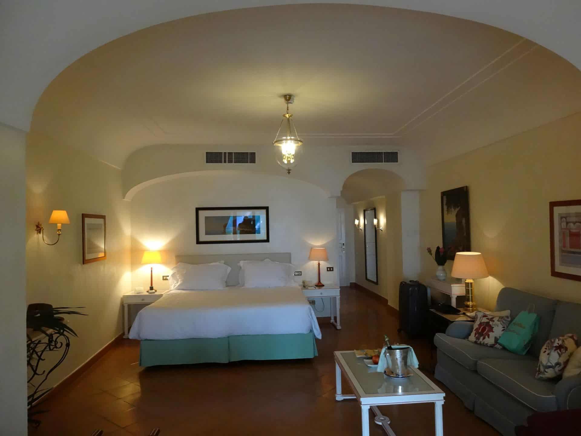 Belmond Hotel Caruso Seaview Garden Suite