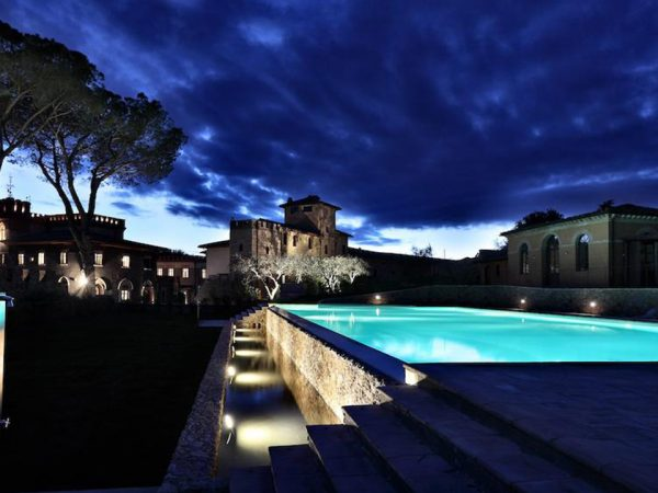 Borgo dei Conti Resort Night Pool View