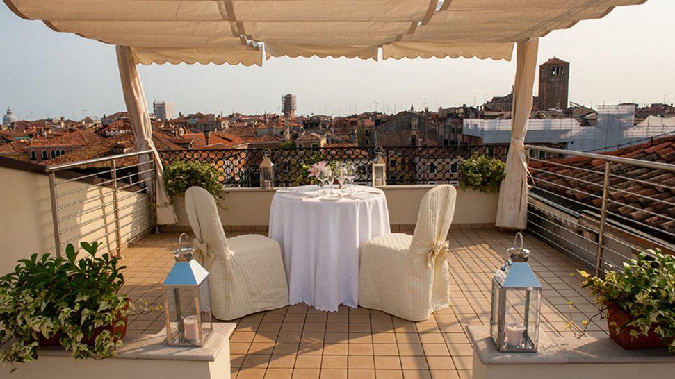 Ca'Sagredo Hotel Rooftop Terrace