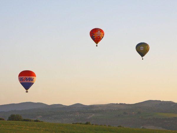 Castello Banfi Il Borgo Air Hot Balloon