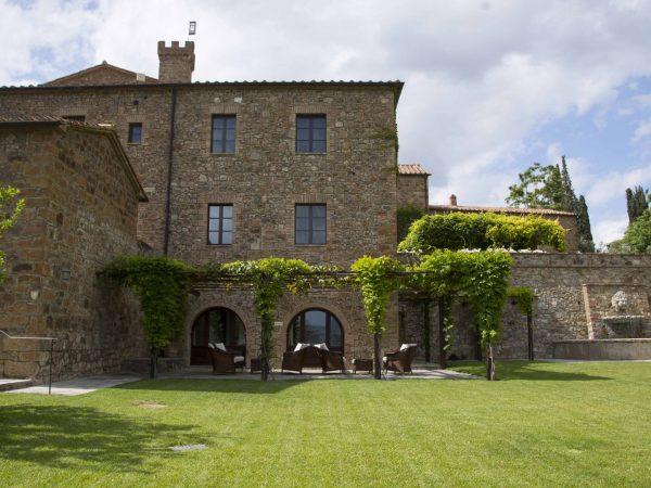 Castello Banfi Il Borgo Exterior View