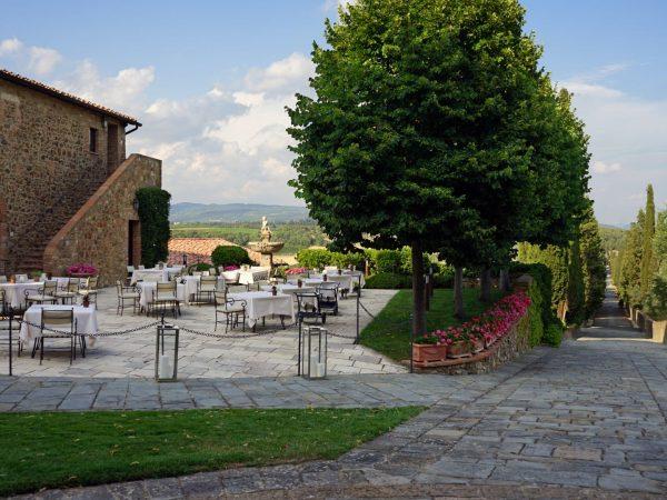 Castello Banfi Il Borgo La Taverna Restaurant