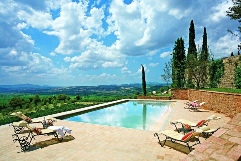 Castello Banfi Il Borgo Pool