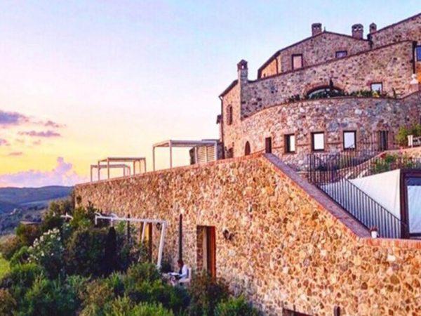 Castello Di Velona Hotel View