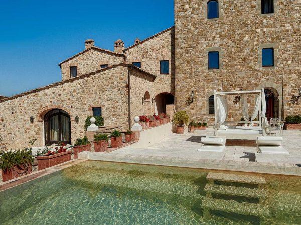 Castello Di Velona Pool Terrace Suite