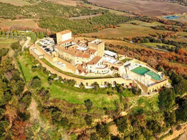 Castello Di Velona Top View