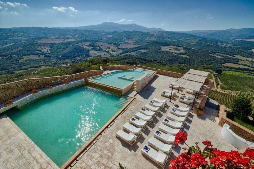 Castello di Velona Resort, Thermal Spa Pool