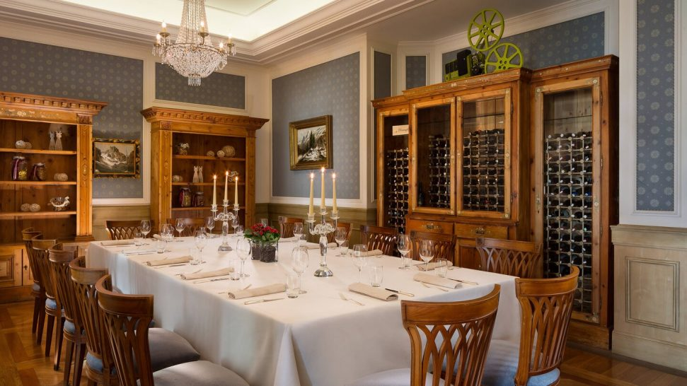 Cristallo Luxury Collection Resort The Chef's Private Table