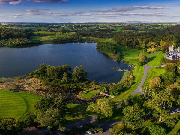 Dromoland Castle Hotel Aerial View