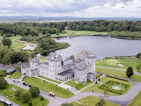 Dromoland Castle Hotel Ariel View