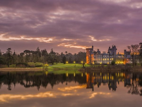 Dromoland Castle Hotel Exterior Night View