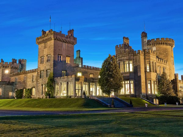 Dromoland Castle Hotel Night View