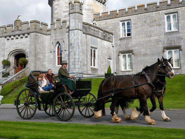 Dromoland Castle Hotel Pony & Trap Rides