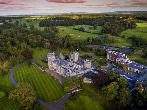 Dromoland Castle Hotel Top View