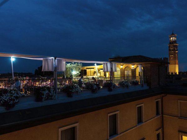 Due Torri Hotel Night View
