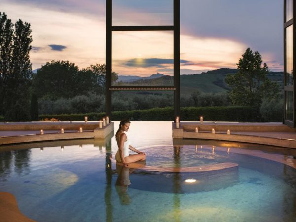 Fonteverde Pool Night View