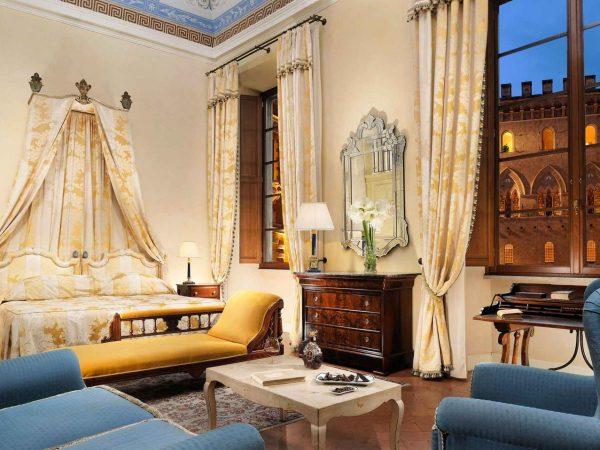 Grand Hotel Continental Siena Starhotels Collezione Family Room