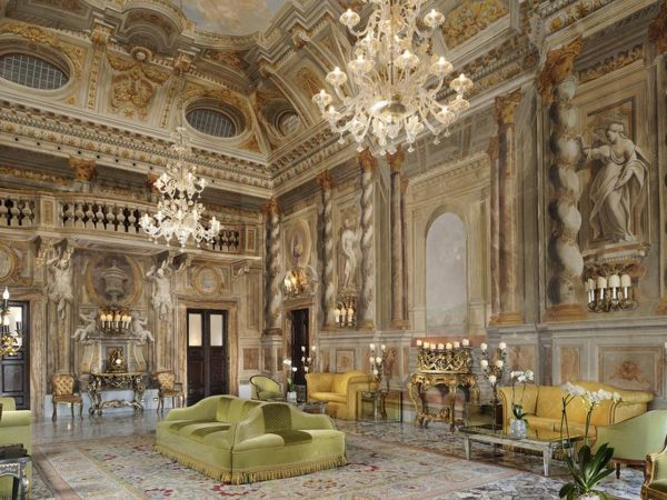 Grand Hotel Continental Siena Starhotels Collezione Interior View