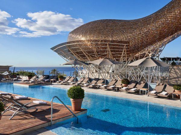 Hotel Arts Barcelona Pool View