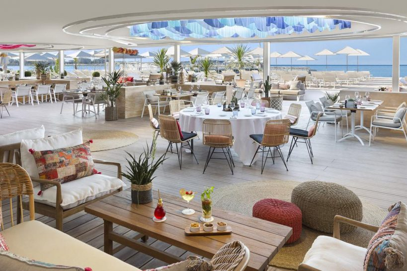 Hotel Barri?re Le Majestic Cannes Bfire by Mauro Colagreco at the Barrier Beach the Majestic CannesBfire by Mauro Colagreco at the Barrier Beach the Majestic Cannes