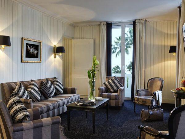 Hotel Barri?re Le Majestic Cannes Deluxe Sea View Suite