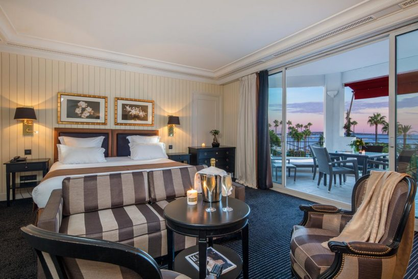 Hotel Barri?re Le Majestic Cannes Double Deluxe Sea View Suite