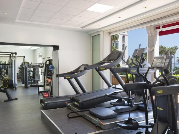 Hotel Barri?re Le Majestic Cannes Gym