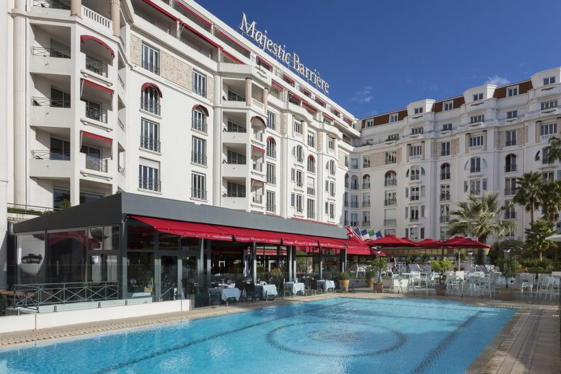 Hotel Barri?re Le Majestic Cannes Hotel Pool View