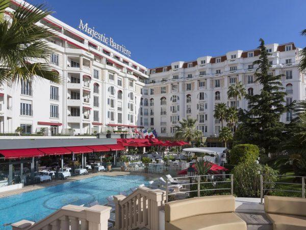 Hotel Barri?re Le Majestic Cannes Hotel View