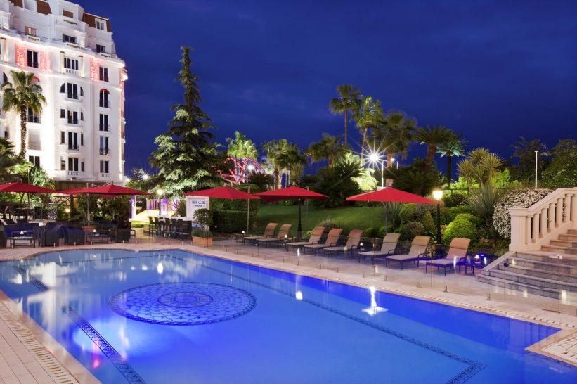Hotel Barri?re Le Majestic Cannes Pool