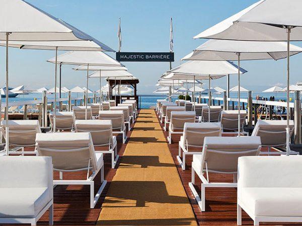 Hotel Barri?re Le Majestic Cannes The Private Beach