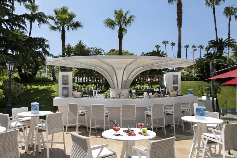 Hotel Barri?re Le Majestic Cannes The Swimming Pool Terrace