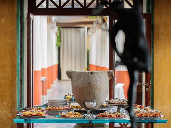 Hotel Bellevue Syrene Breakfast