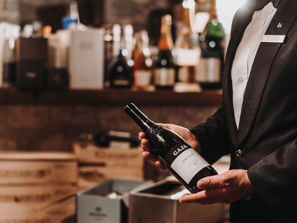 Hotel Bellevue Syrene Wine Cellar