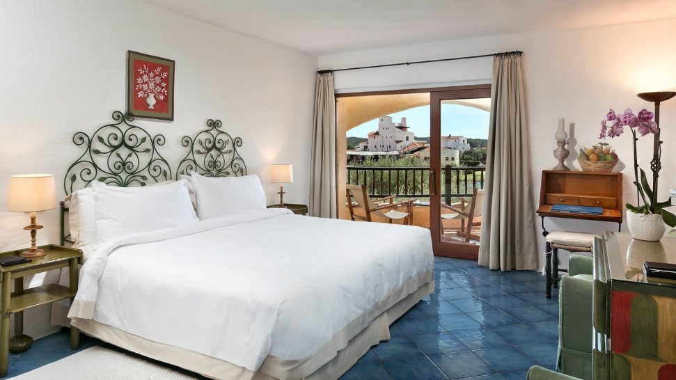 Hotel Cala di Volpe, a Luxury Collection Hotel, Costa Smeralda Superior Double Guest room, 1 King, Partial sea view, Balcony